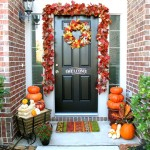 Front Entrance - decorated beautifully for Fall